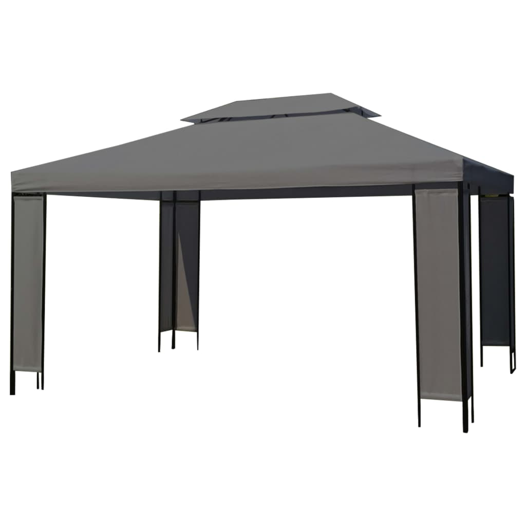 Gazebo 3-4m Outdoor Garden Canopy Marquee Wedding Party Sports Tent Pavilion