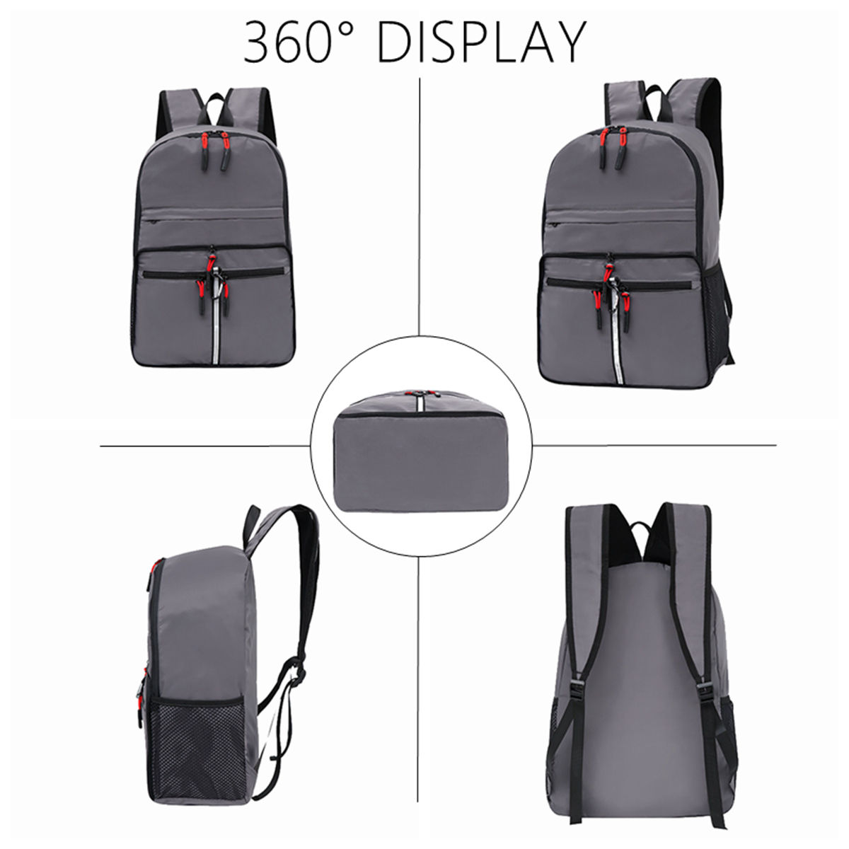 20//40L Hiking Backpack Nylon Large Waterproof Travel Outdoor Sports Camping Bag