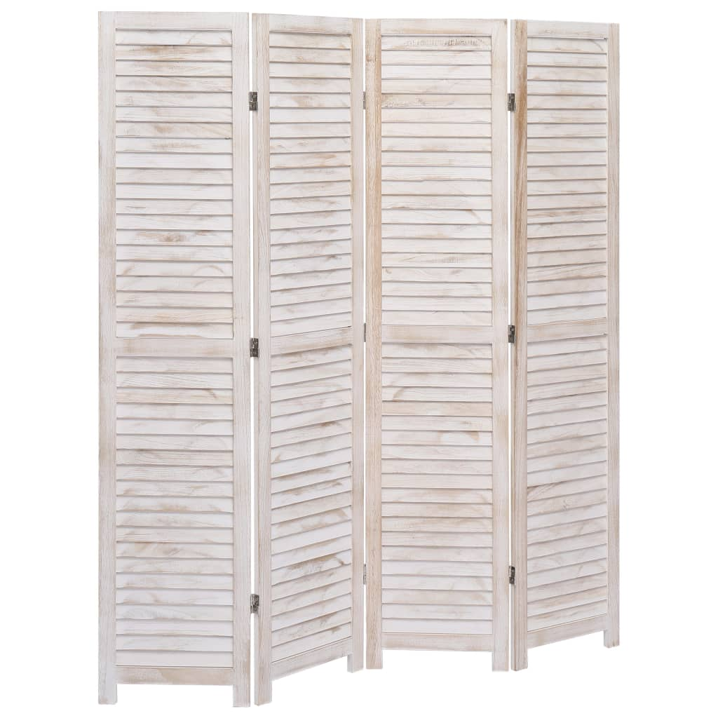 Room Divider 3//4//5//6 Panel Wood Wall Partition Privacy Screen Separator Foldable