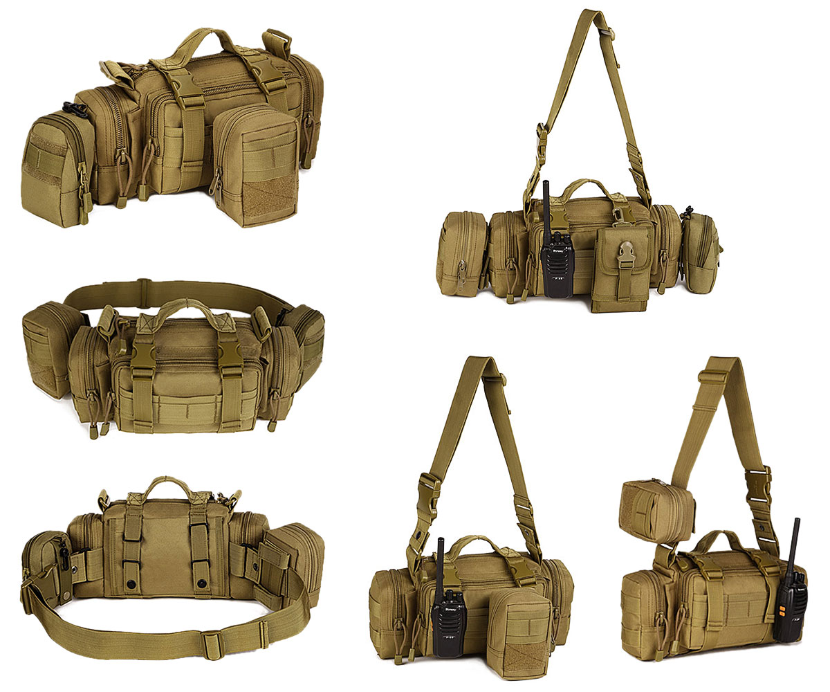 Tactical Medical Leg Drop Thigh Bag Outdoor Emergency Molle First Aid Kit Pouch