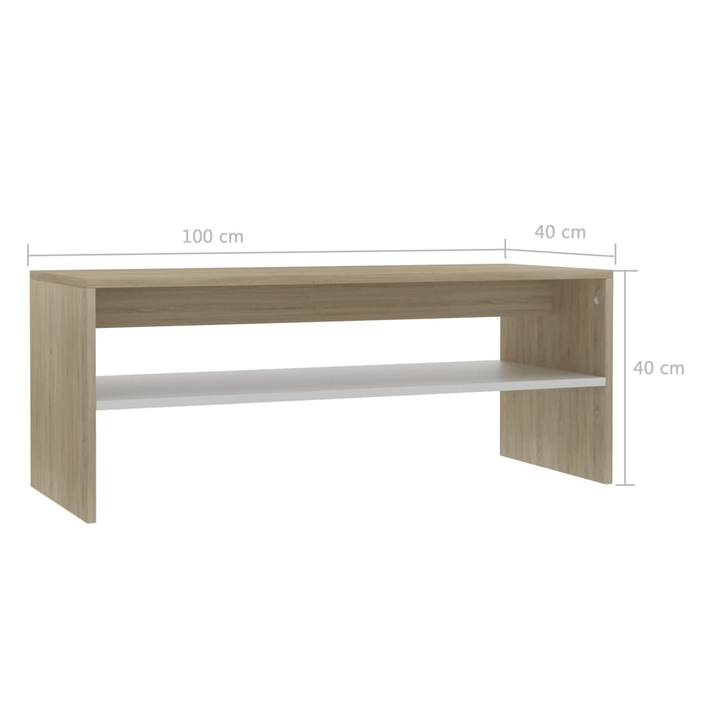 Modern-Coffee-Table-With-Storage-Shelf-Living-Room-Furniture-Chipboard-9-Colour thumbnail 65
