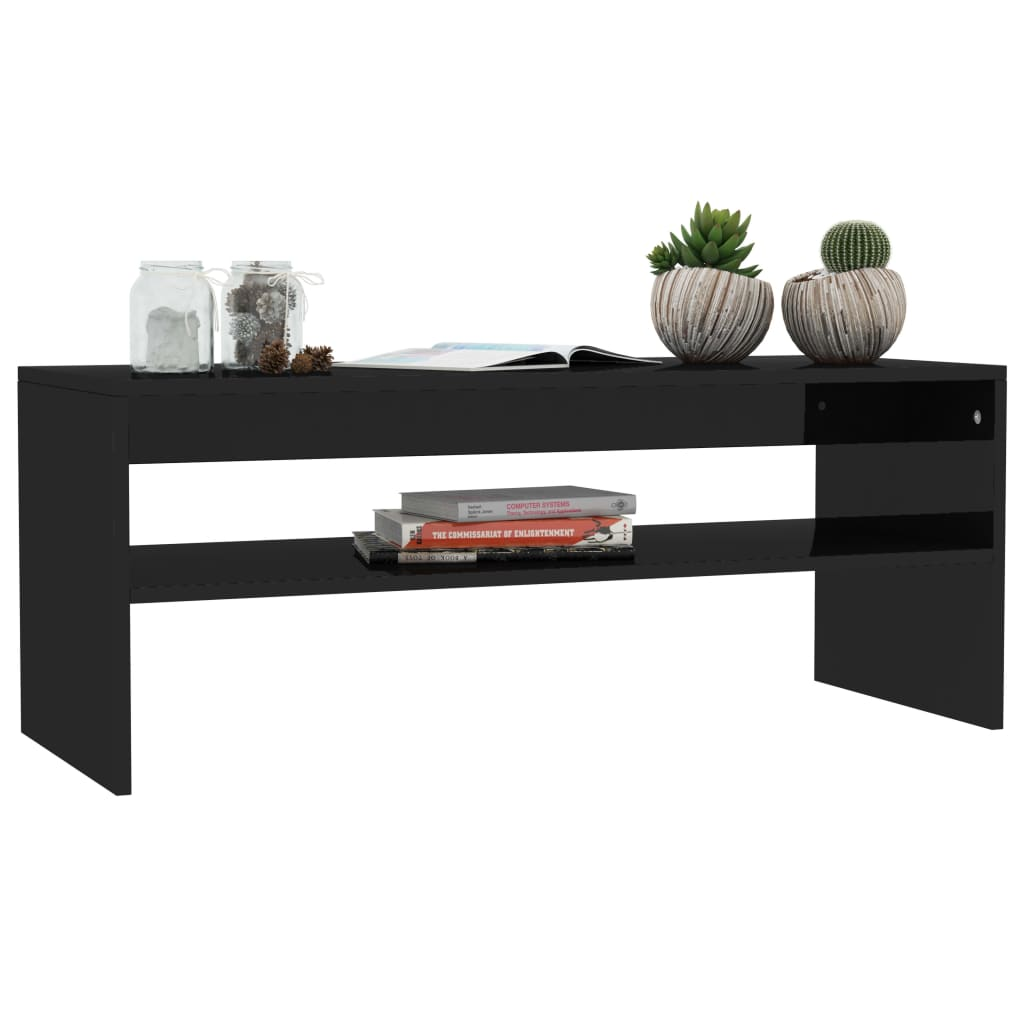 Modern-Coffee-Table-With-Storage-Shelf-Living-Room-Furniture-Chipboard-9-Colour thumbnail 32
