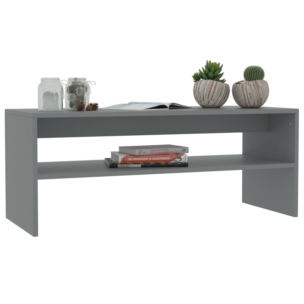 Modern-Coffee-Table-With-Storage-Shelf-Living-Room-Furniture-Chipboard-9-Colour thumbnail 26
