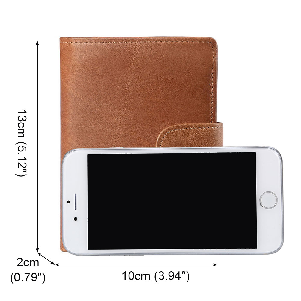 Men-039-s-Genuine-Leather-Trifold-RFID-Wallet-Money-Clip-Card-Holder-Coin-Purse-Case thumbnail 27