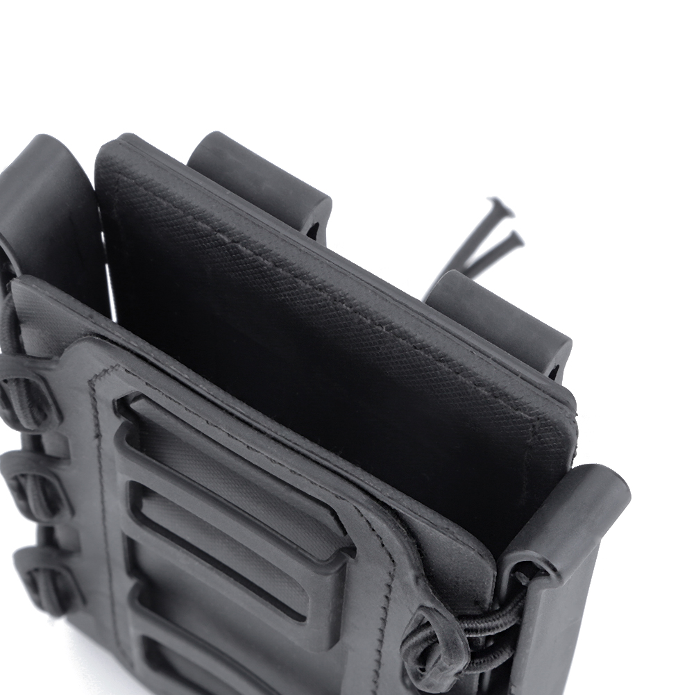 3PCS Soft Shell Scorpion Rifle Mag Carrier Magazine Pouch Holder for  5.56 7.62m