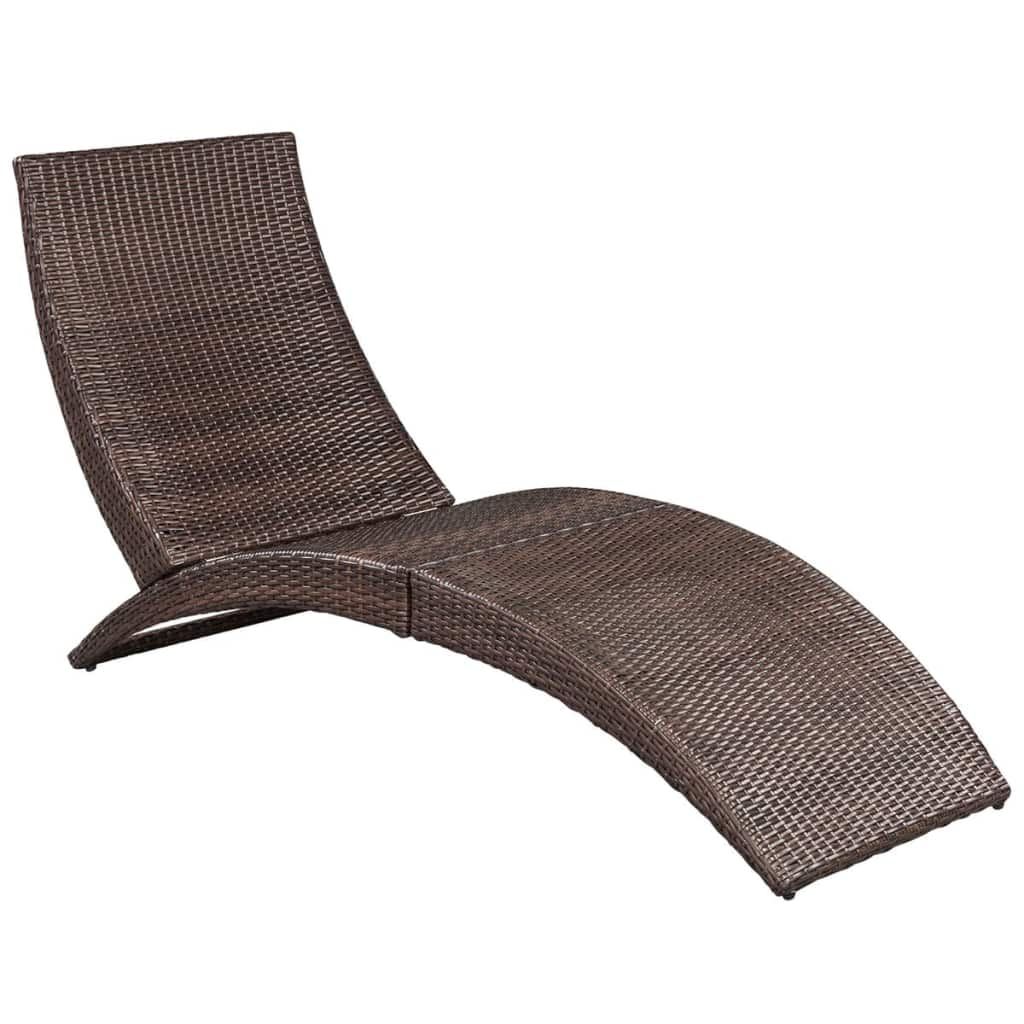 Outdoor-Garden-Chaise-Lounge-Chair-Sun-Bed-Pool-Patio-Day-Bed-Sofa-Poly-Rattan thumbnail 34