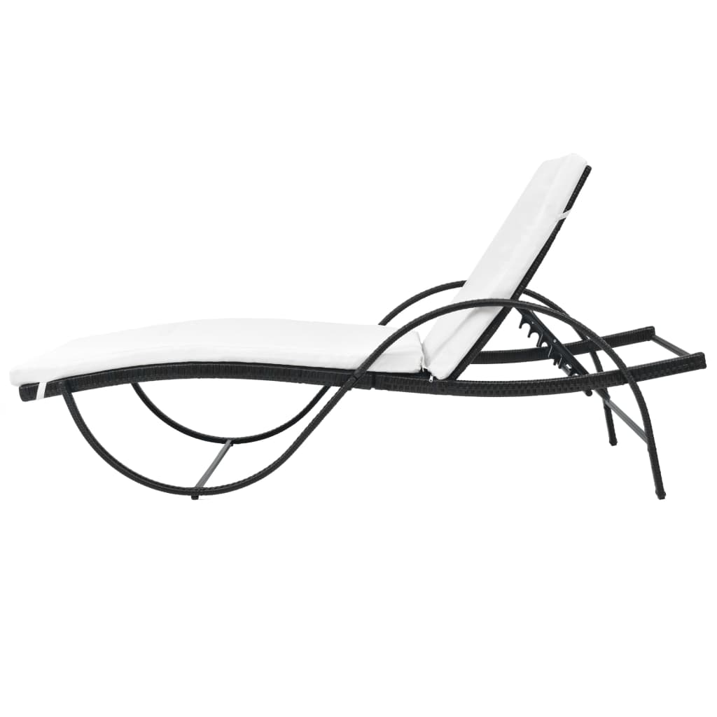 Outdoor-Garden-Chaise-Lounge-Chair-Sun-Bed-Pool-Patio-Day-Bed-Sofa-Poly-Rattan thumbnail 106