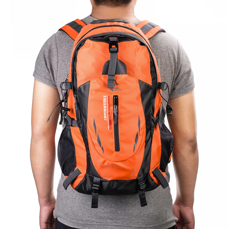 40L-Outdoor-Sports-Day-packs-Waterproof-Luggage-Travel-Hiking-Rucksack-Bag thumbnail 39