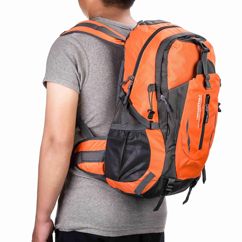 40L-Outdoor-Sports-Day-packs-Waterproof-Luggage-Travel-Hiking-Rucksack-Bag thumbnail 40