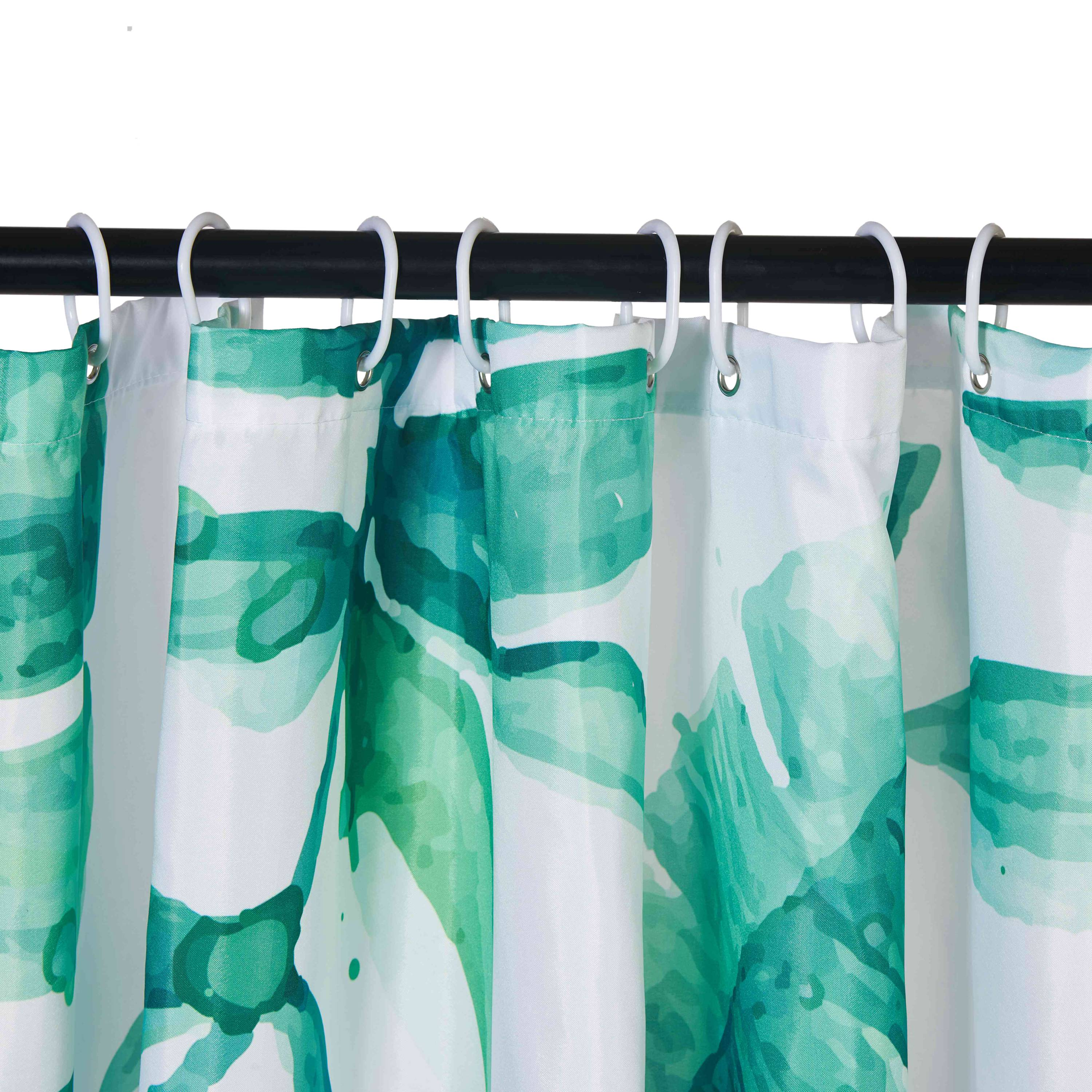 Details About Waterproof Shower Curtain Hook Extra Long Bath Room Decor Plastic Hook Ring Sets