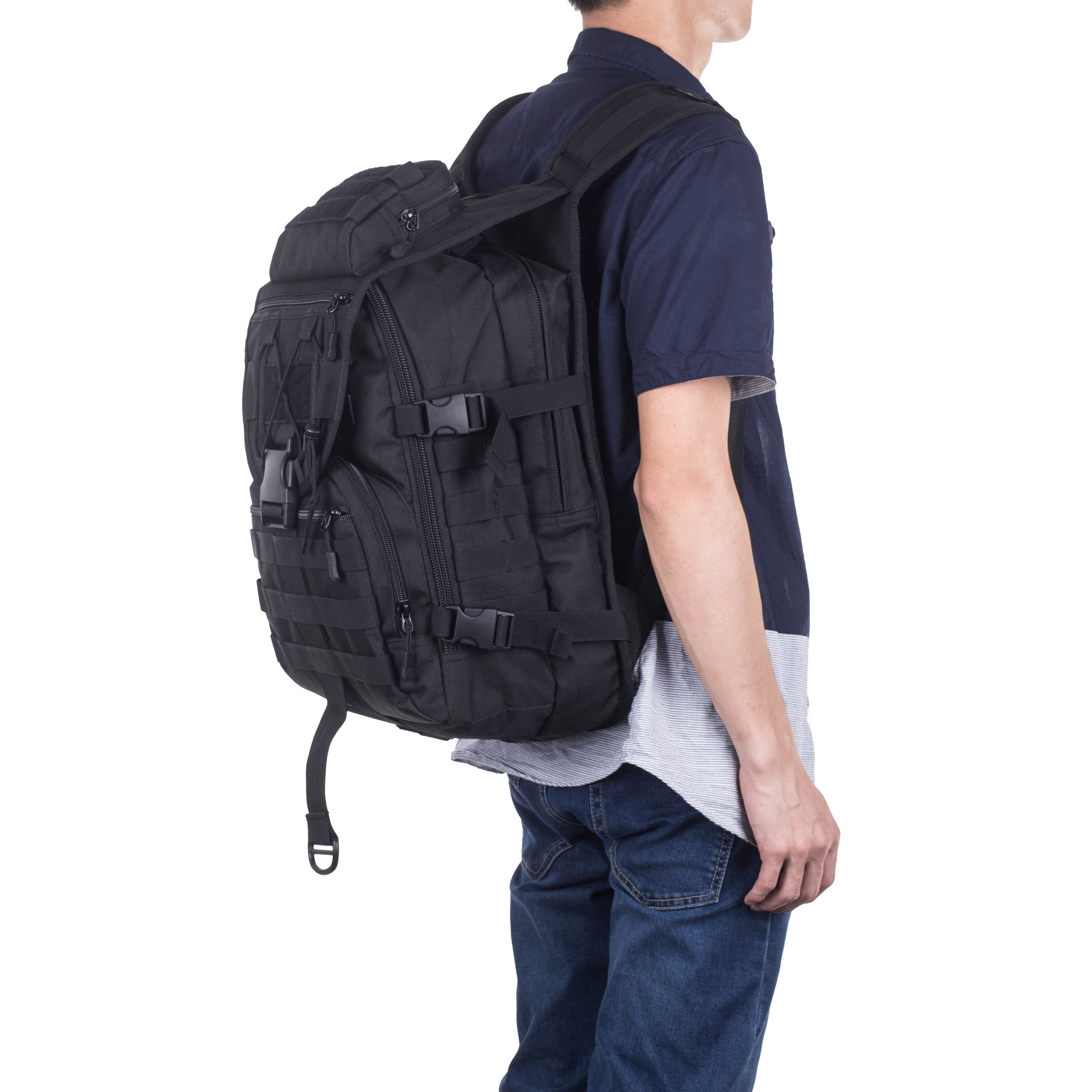 40L-Military-Tactical-Backpack-Assault-Pack-MOLLE-Bug-Out-Bag-Army-Backpack-Trek thumbnail 31