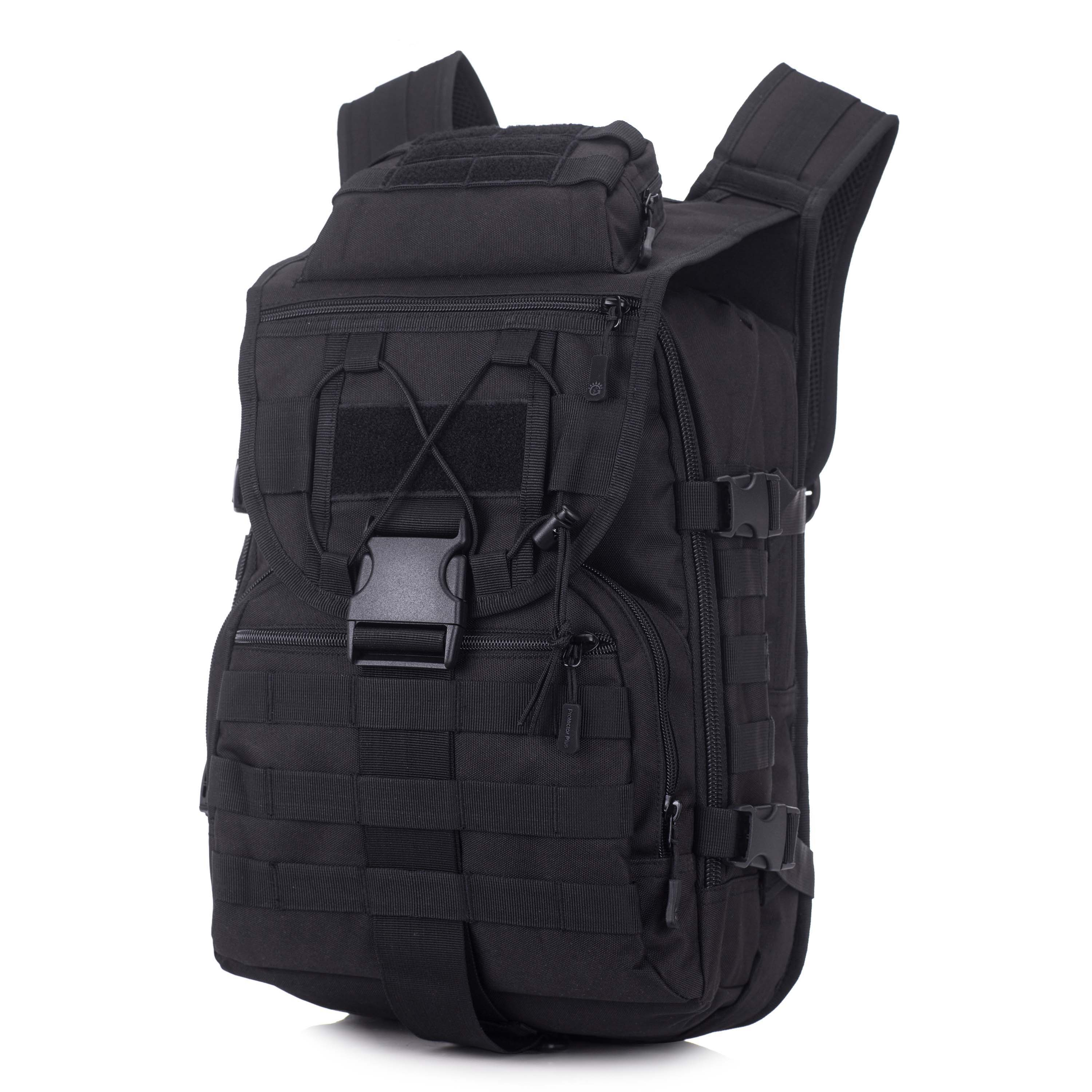 40L-Military-Tactical-Backpack-Assault-Pack-MOLLE-Bug-Out-Bag-Army-Backpack-Trek thumbnail 33
