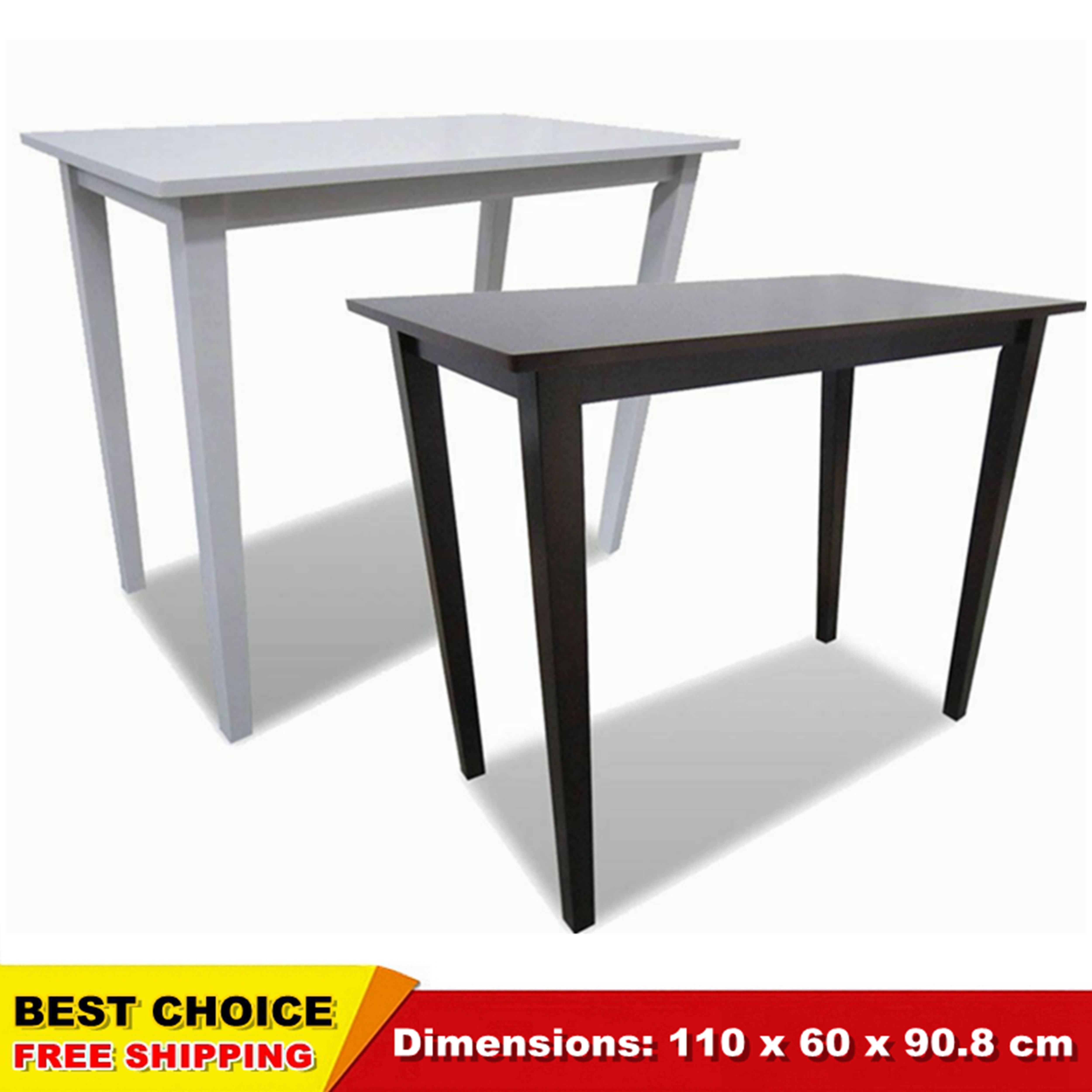 Breakfast Bar Table Wooden Console Side Coffee Dining Room ...