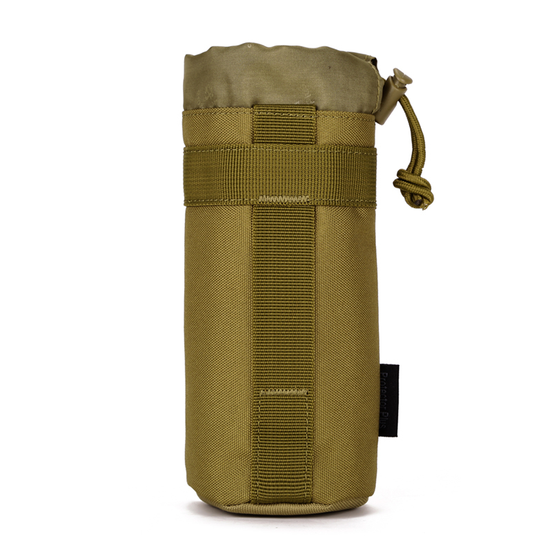 Outdoor Tactical Camouflage Water Bottle Carrier Bag Camping Hiking Holder Pouch