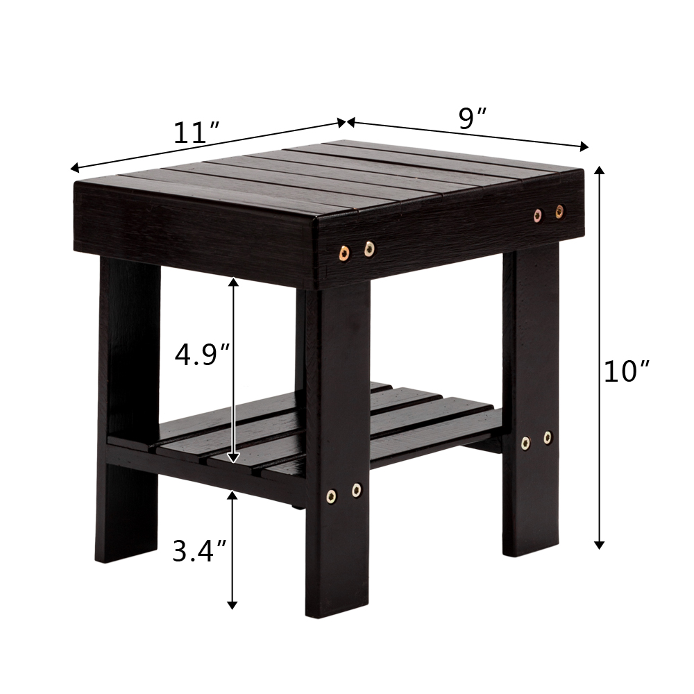 Admirable Details About Children Step Stool Wooden Stool Seat Kid Foot Stool Storage Shelf Bamboo Coffee Alphanode Cool Chair Designs And Ideas Alphanodeonline