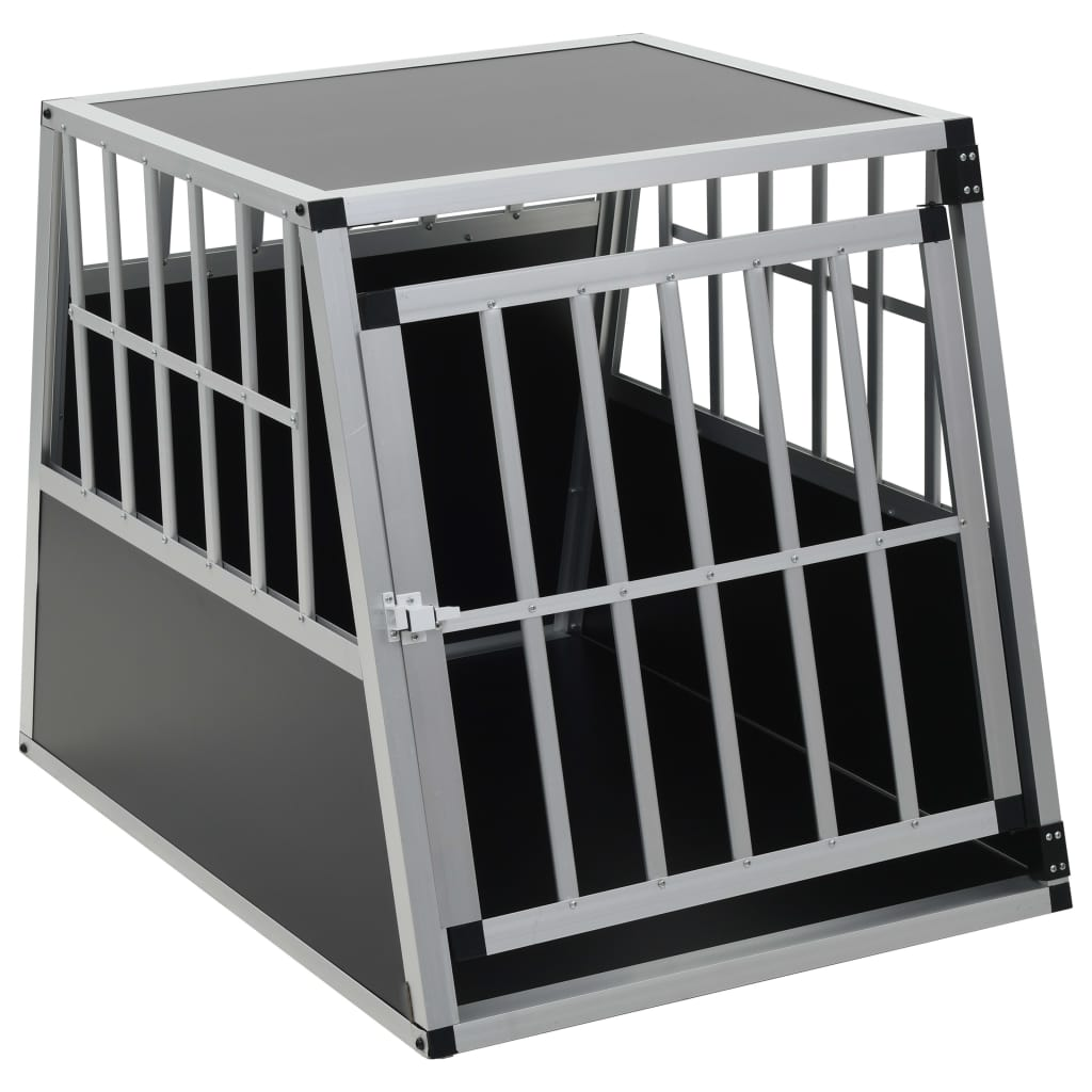 vidaXL-Dog-Cage-Dog-Kennels-Dog-Crates-with-Single-Double-Door-Multi-Sizes thumbnail 35