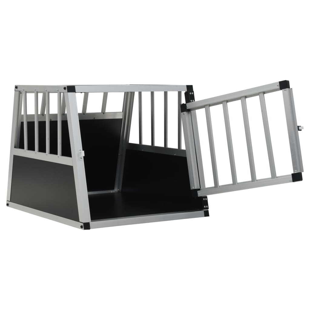 vidaXL-Dog-Cage-Dog-Kennels-Dog-Crates-with-Single-Double-Door-Multi-Sizes thumbnail 28