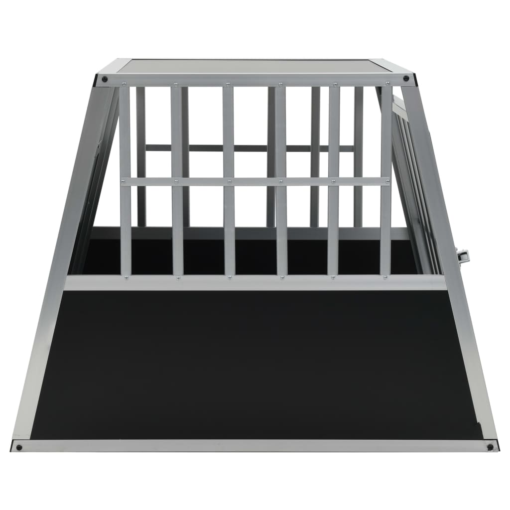 vidaXL-Dog-Cage-Dog-Kennels-Dog-Crates-with-Single-Double-Door-Multi-Sizes thumbnail 37