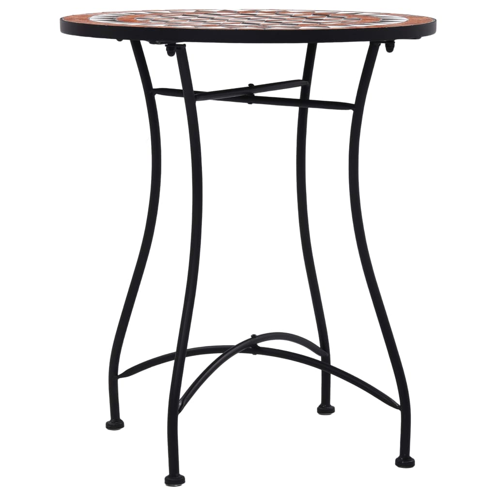 Sruare Round Mosaic Side Table Chairs Set Ceramic Garden Balcony Coffee Table Ebay