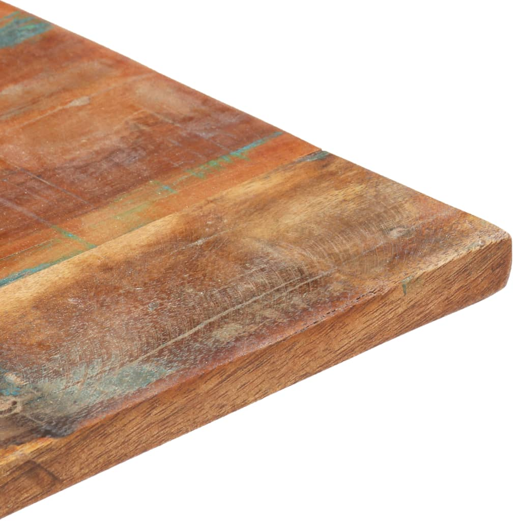 1527mm coffee kitchen dining table top solid reclaimed