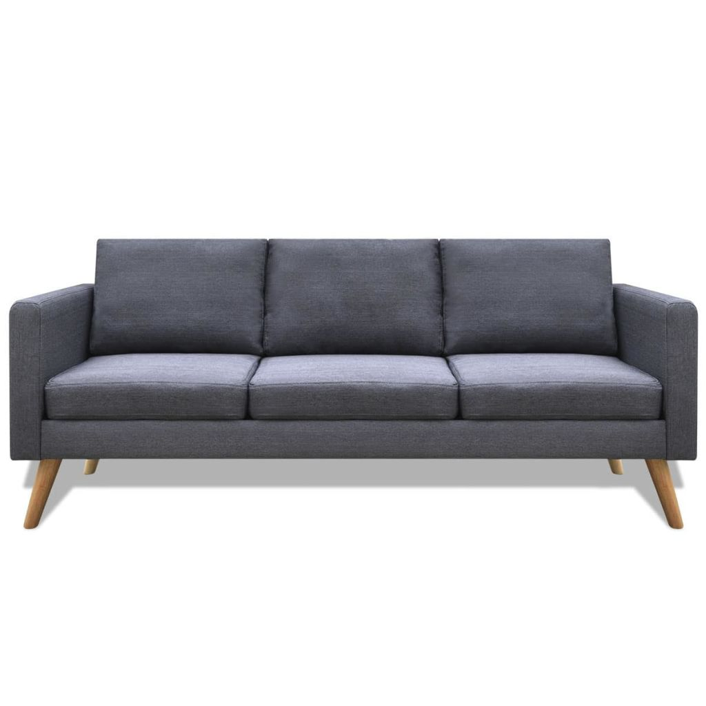 Sofa 2/3 Sitzer Stoff Polstersofa Loungesofa Couch Sessel ...